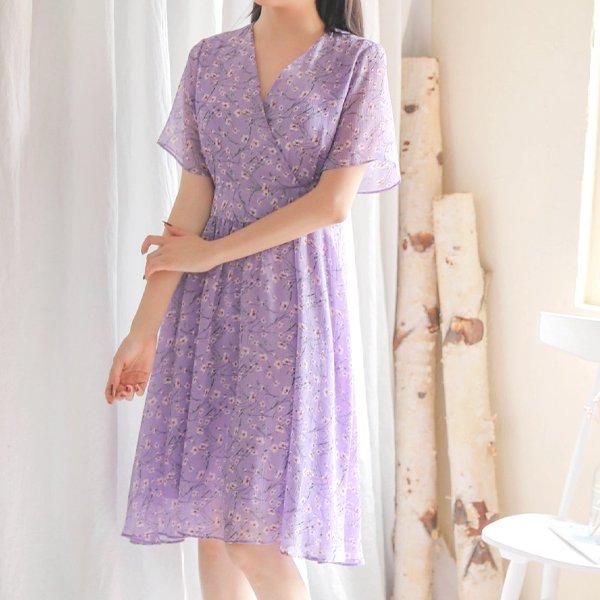 줄라이플라워원피스 WB5754M906  도매 배송대행 미시옷 임부복