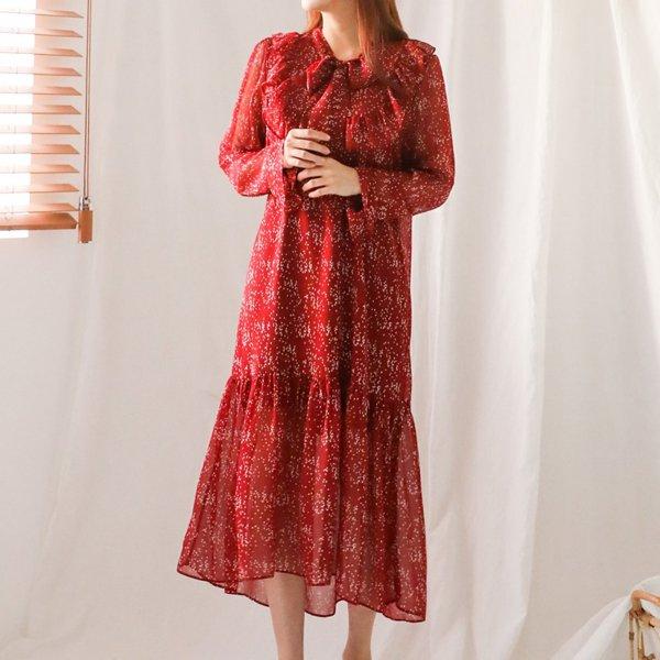 럽도트타이원피스 WB6348M908  도매 배송대행 미시옷 임부복