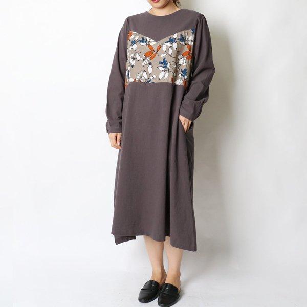 소프트퍼프꽃원피스 HG6351M908  도매 배송대행 미시옷 임부복