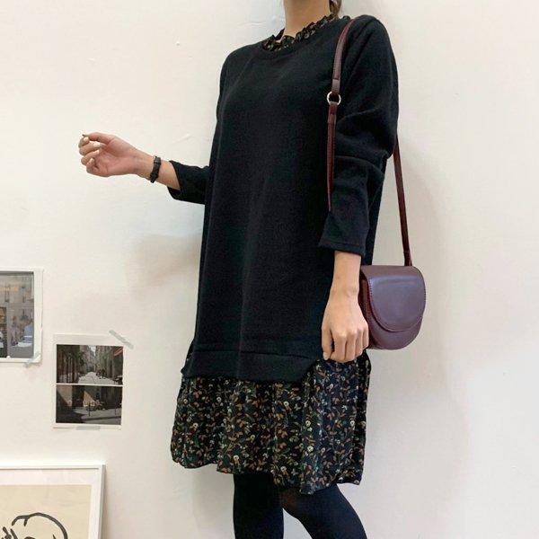 쥬니 꽃 미디원피스 BS6814M910  도매 배송대행 미시옷 임부복