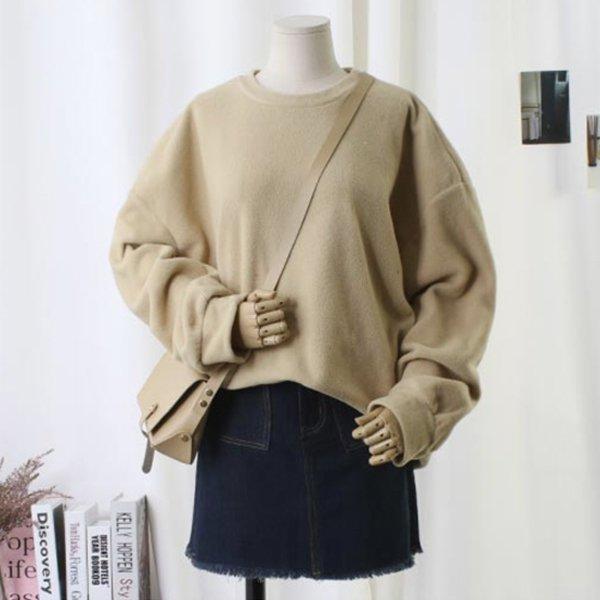 여유핏포근맨투맨티 TW6871M910  도매 배송대행 미시옷 임부복