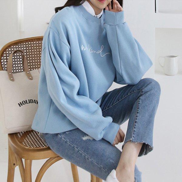 양기모 컬러 맨투맨 GG6918M910  도매 배송대행 미시옷 임부복