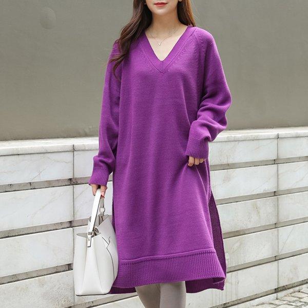 니트나그랑롱원피스 TM7075M911  도매 배송대행 미시옷 임부복