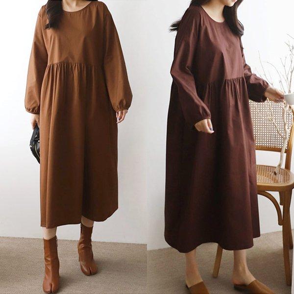 러블리퍼프롱원피스 SO7094M911  도매 배송대행 미시옷 임부복