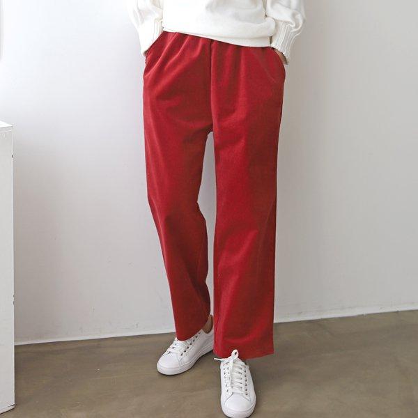 골덴스판와이드팬츠 AD7249M911  도매 배송대행 미시옷 임부복