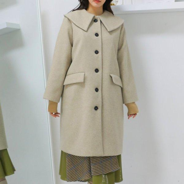 브리오 울 롱코트 WB7668M912  도매 배송대행 미시옷 임부복