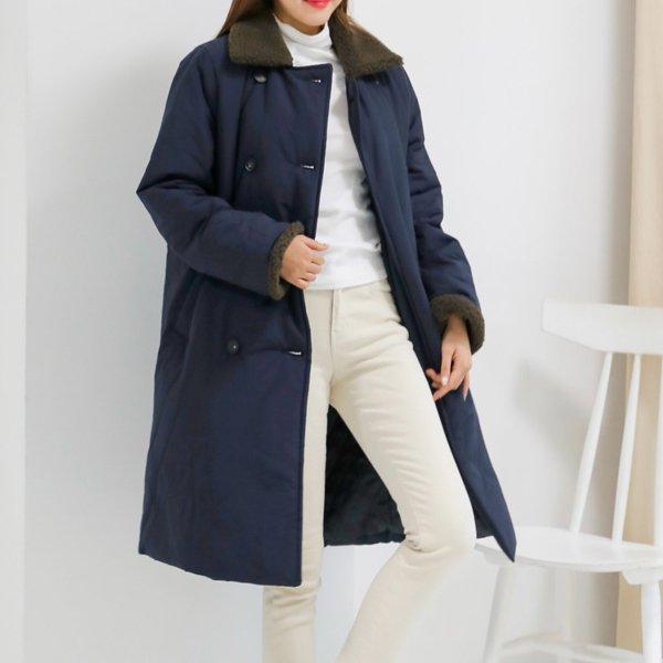 푸들덤블패딩롱점퍼 WB7669M912  도매 배송대행 미시옷 임부복
