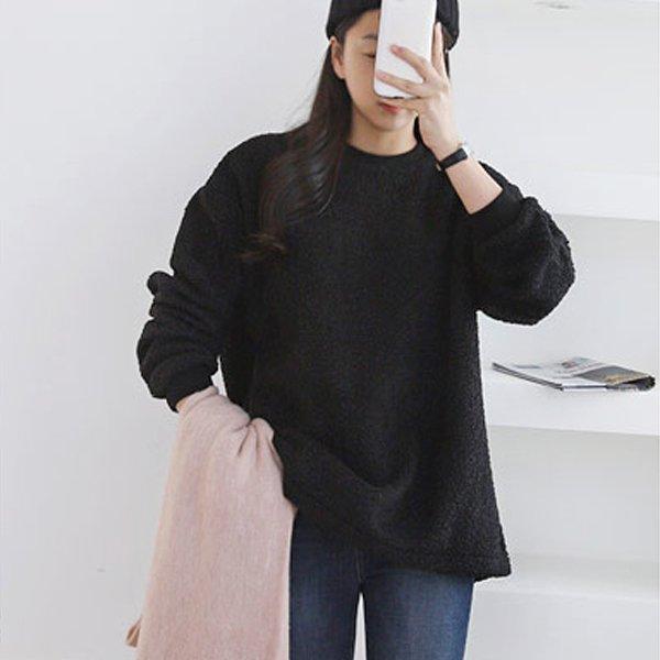 따뜻덤블롱맨투맨 GG7690M912  도매 배송대행 미시옷 임부복