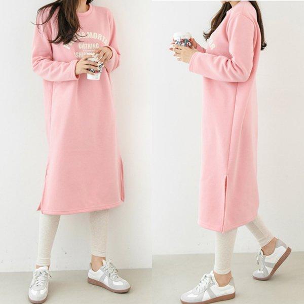 모르기모영문원피스 SO7691M912  도매 배송대행 미시옷 임부복
