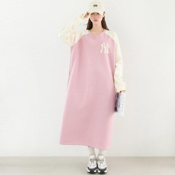루즈핏나그랑원피스 BE7717M001  도매 배송대행 미시옷 임부복
