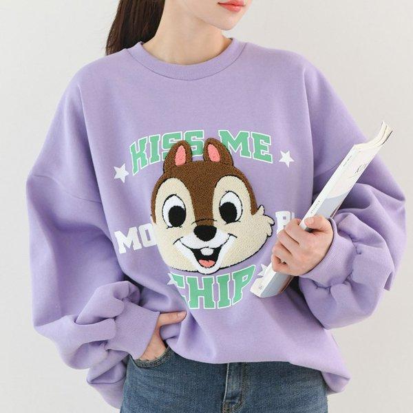 덤블다람쥐맨투맨 TS7969M001  도매 배송대행 미시옷 임부복