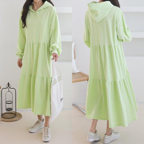 캐주얼캉캉롱원피스 GR8070M001  도매 배송대행 미시옷 임부복