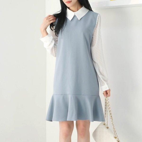 스노우플라워원피스 WB8311M002  도매 배송대행 미시옷 임부복