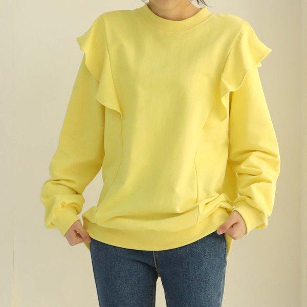 프릴엔젤맨투맨 WB8314M002  도매 배송대행 미시옷 임부복