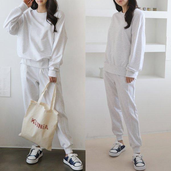 코튼트레이닝세트 AD8406M002  도매 배송대행 미시옷 임부복
