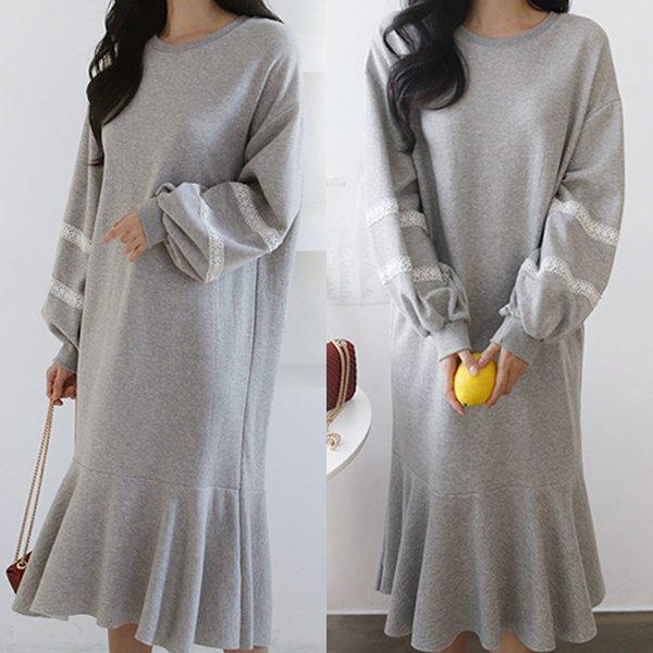 슈가레이스원피스 GG8409M002  도매 배송대행 미시옷 임부복