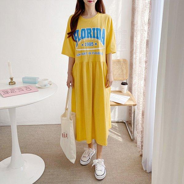 빅사이즈 오버핏스커프원피스 PO8560M003 도매 배송대행 미시옷 임부복