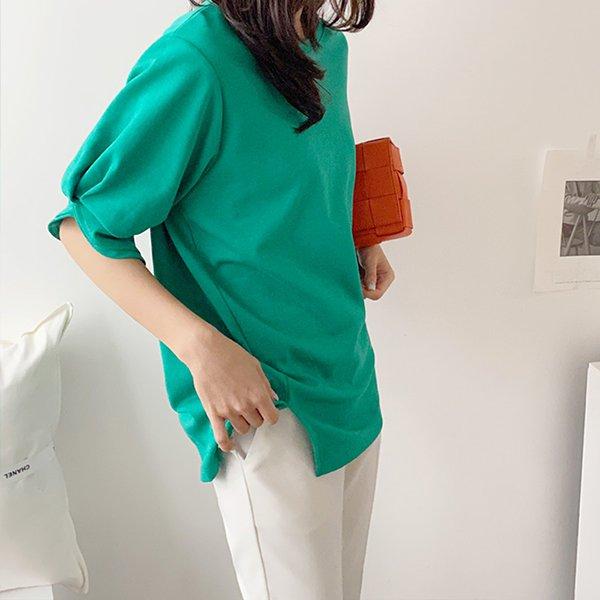 빅사이즈 컬러초이스벌룬티 BQ8576M003 도매 배송대행 미시옷 임부복