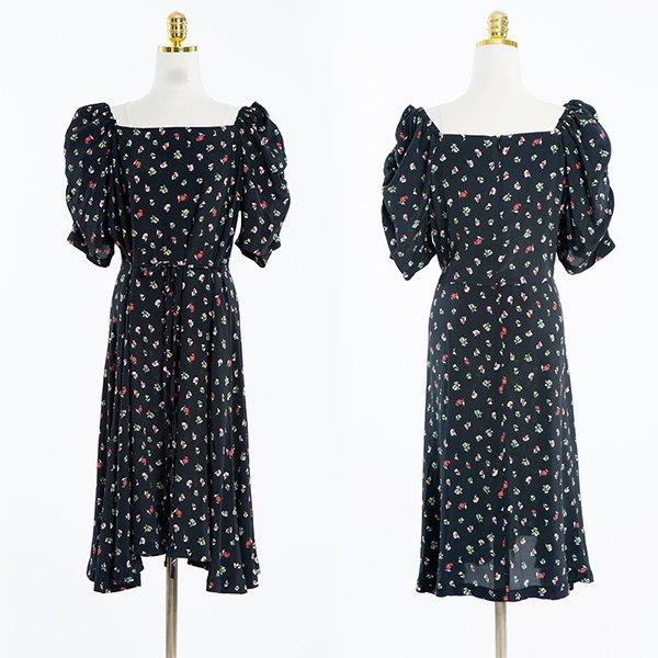 빅사이즈 꽃송이퍼프원피스 CMA408M006 도매 배송대행 미시옷 임부복