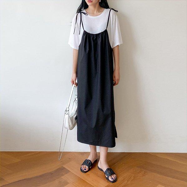 나시면뷔스티에원피스 DTMA424 도매 배송대행 미시옷 임부복
