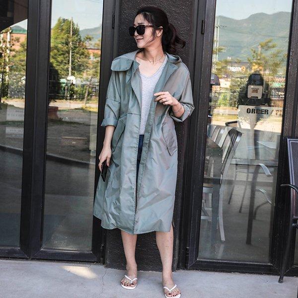 하이트렌아웃캠자켓 SOA431M006 도매 배송대행 미시옷 임부복