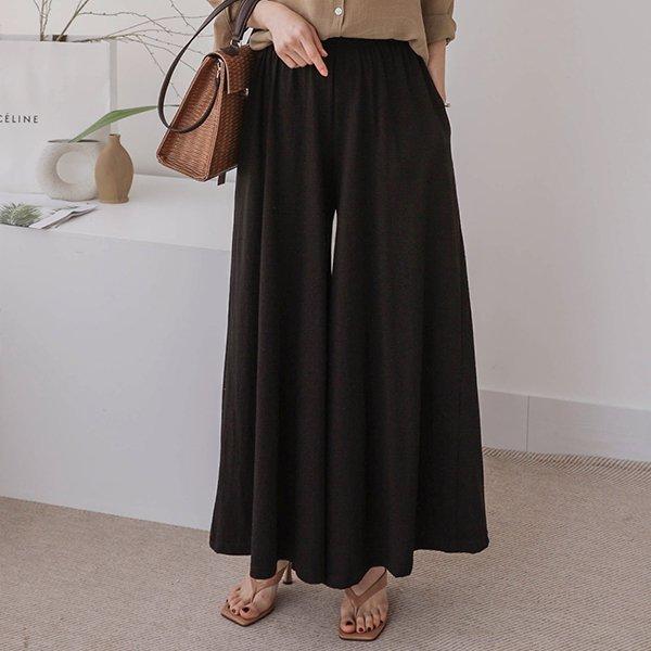 |007 와이드훌밴딩치마바지 DSOA457 도매 배송대행 미시옷 임부복
