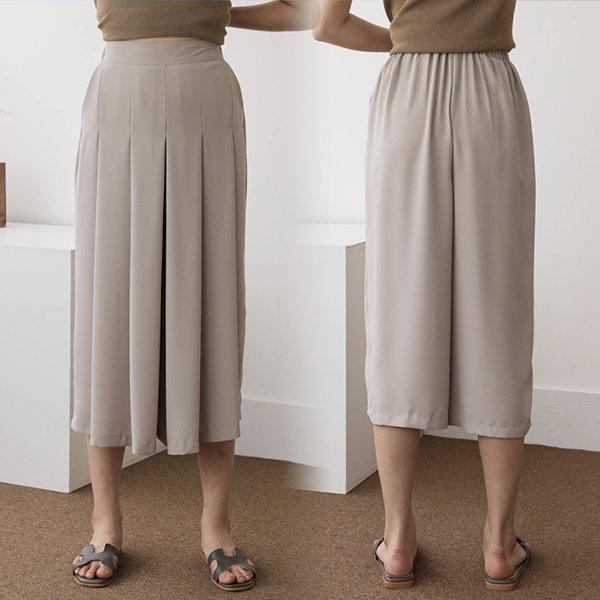 |007 와이드핀턱치마바지 DSOA460 도매 배송대행 미시옷 임부복
