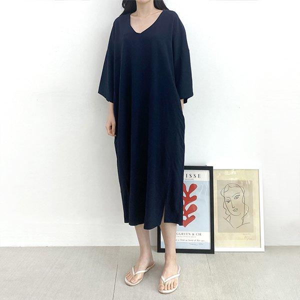007 오버스트링롱원피스 DTGA464 도매 배송대행 미시옷 임부복