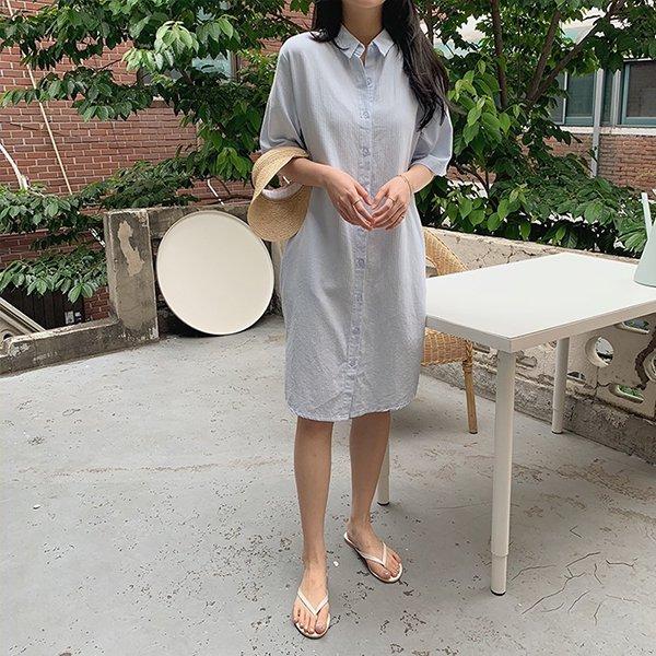 007 요루단가라셔츠원피스 DUNA471 도매 배송대행 미시옷 임부복