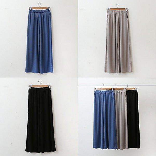 007 루즈와이드심플팬츠 DWBA549 도매 배송대행 미시옷 임부복