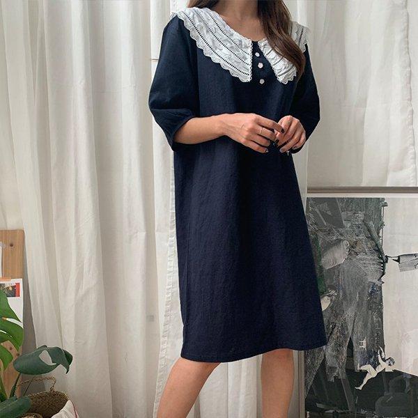 BS 쿼드러플퍼프원피스(A563H007) 도매 배송대행 미시옷 임부복