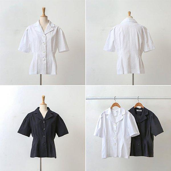007 올디퍼프테일블라우스 DWBA569 도매 배송대행 미시옷 임부복