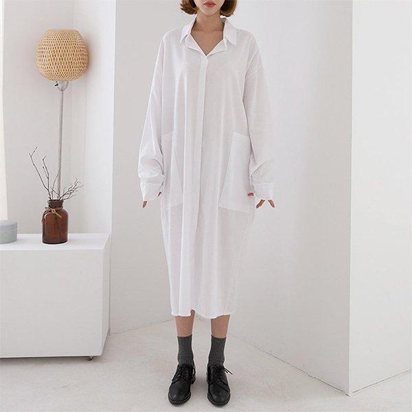 008 빅포켓모던셔츠원피스 DNOA600 도매 배송대행 미시옷 임부복