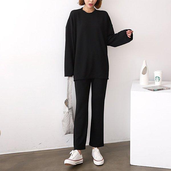 008 오버핏무지티와바지 DNOA601 도매 배송대행 미시옷 임부복