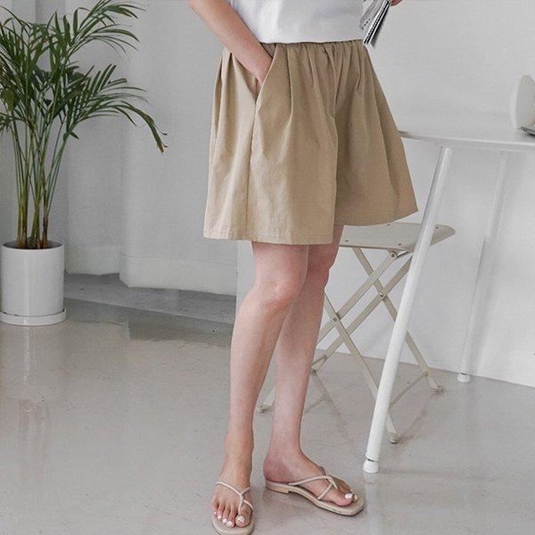 008 플레어와이드면반바지 DEMA606 도매 배송대행 미시옷 임부복