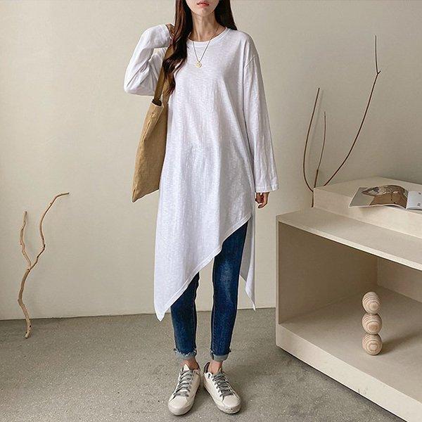 009 배색줄지인리본원피스 DYBA802 도매 배송대행 미시옷 임부복