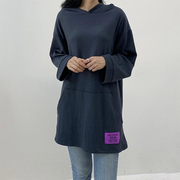 009 루즈후디캥거루박스티 DZYB047 도매 배송대행 미시옷 임부복