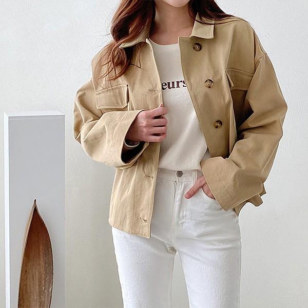 009 낙낙빅패치카고자켓 DGGB052 도매 배송대행 미시옷 임부복