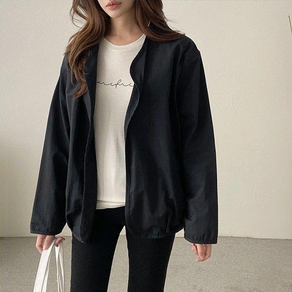 009 베이직랍바오픈자켓 DGGB053 도매 배송대행 미시옷 임부복