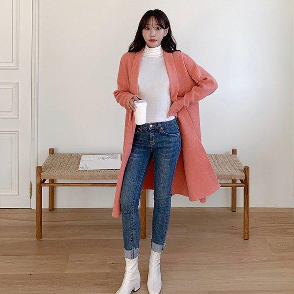 010 니트숄무지롱가디건 DNOB152 도매 배송대행 미시옷 임부복