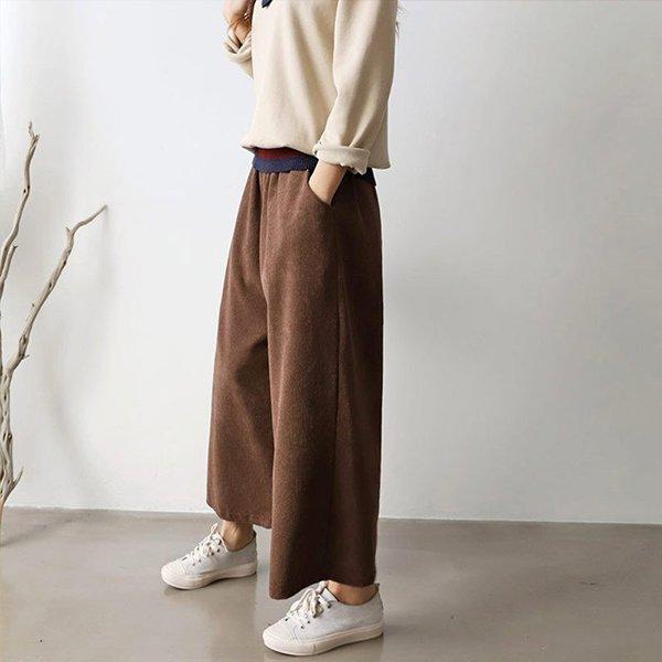 010 골덴와이드배기핏팬츠 DEMB156 도매 배송대행 미시옷 임부복