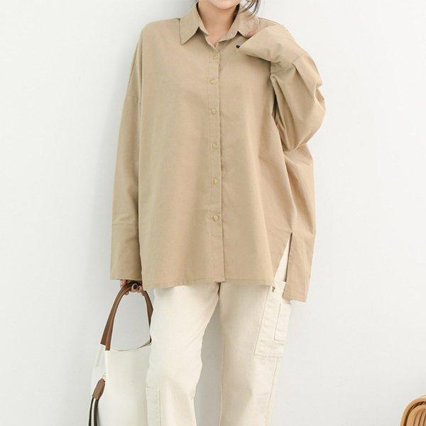 010 커프스겉기모롱셔츠 DTMB161 도매 배송대행 미시옷 임부복