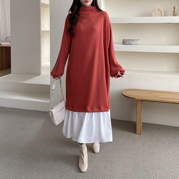 011 러블리반하이롱원피스 DPOC026 도매 배송대행 미시옷 임부복