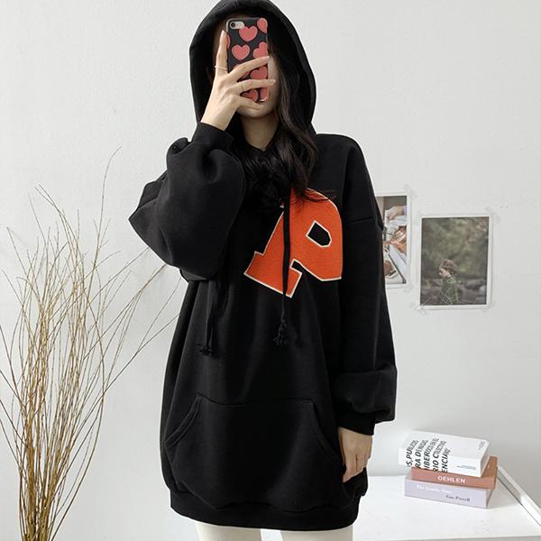 011 톡톡와펜기모롱후드티 DZYC030 도매 배송대행 미시옷 임부복