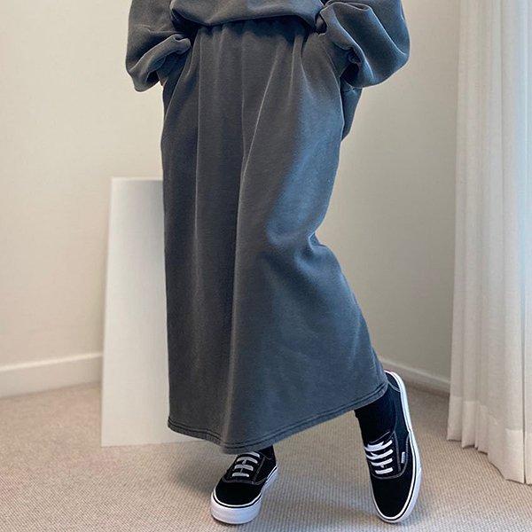 011 내추럴무드워싱롱치마 DHGC033 도매 배송대행 미시옷 임부복