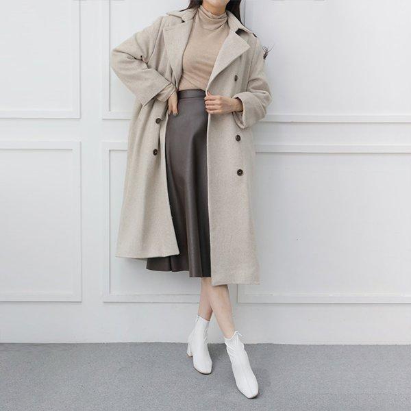 011 안정적인퀄팅울롱코트 DWBC036 도매 배송대행 미시옷 임부복