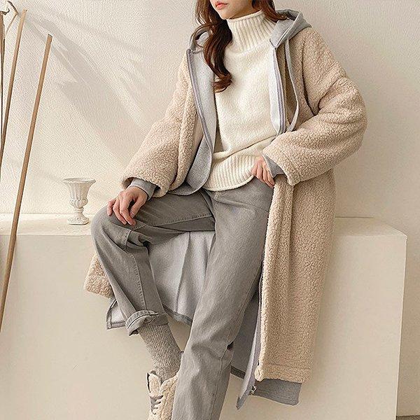 011 디테일덤블오픈롱자켓 DEMC038 도매 배송대행 미시옷 임부복