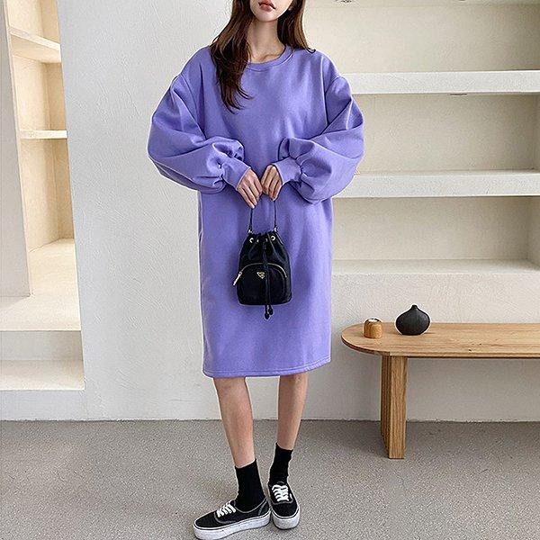 011 풍성한기모미니원피스 DSFC041 도매 배송대행 미시옷 임부복
