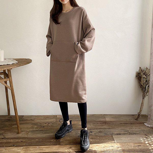 011 라운드통일자롱원피스 DSFC045 도매 배송대행 미시옷 임부복