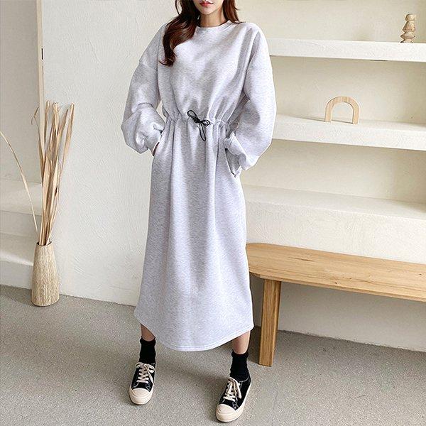 011 스트링라인기모원피스 DSFC046 도매 배송대행 미시옷 임부복